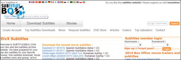 download movie subtitles