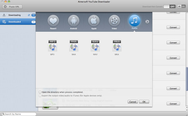 convert ustream to mp3