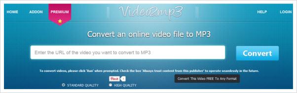 Конвертируйте аудио и видео в формат MP3 - Online