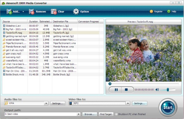 convert m4v to windows media player