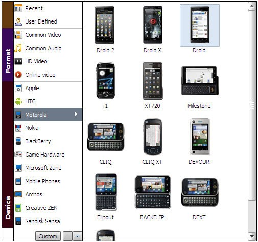play itunes on droid