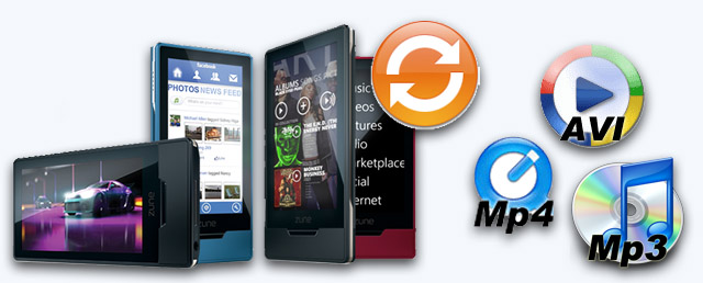 convert Zune marketplace protected music videos to mp3 avi mp4