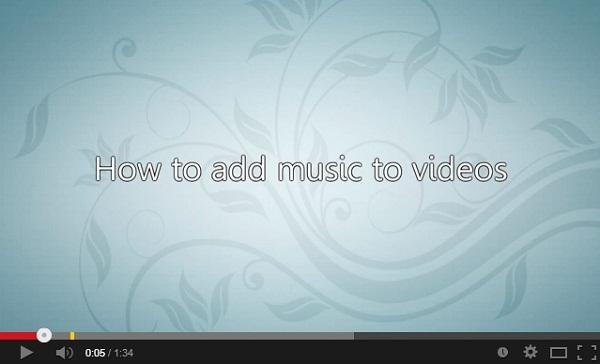 imovie music