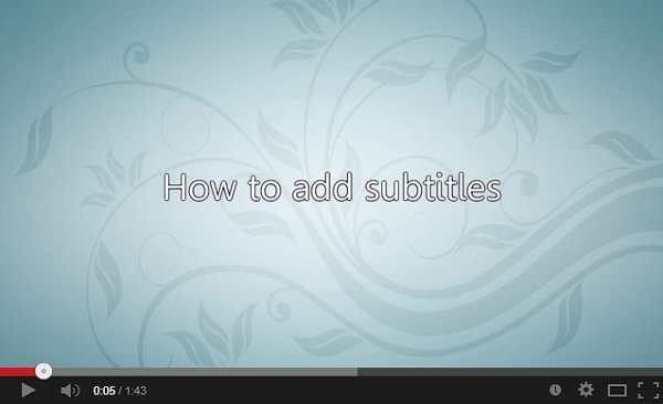 subtitles in imovie