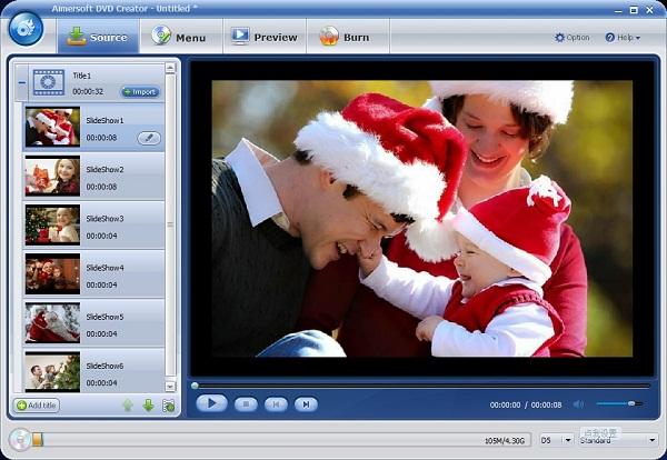 make christmas photo album