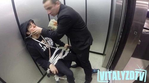 Russian Hitman Elevator Hostage