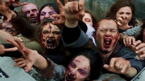 Walking Dead Zombies Prank NYC
