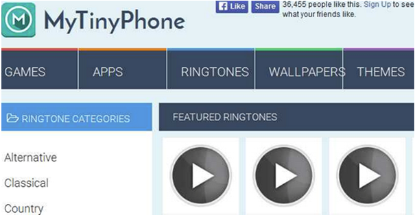 best ringtone site for android