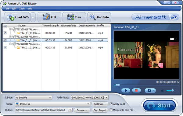 Add or Load DVD File