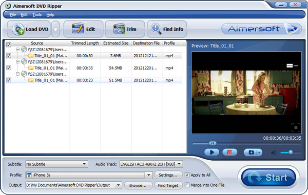 convert dvd to mpeg