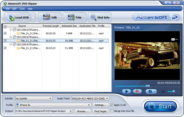 convert iso to mov