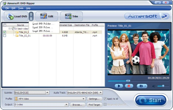 convert iso to xvid
