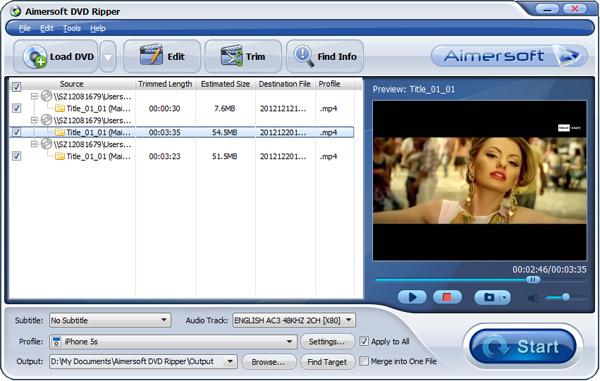 convert video ts to mkv