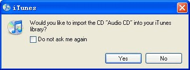itunes cd rip