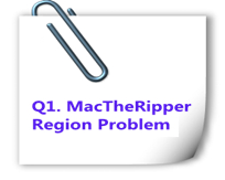 mac the ripper region problem