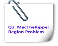 mac the ripper region problem
