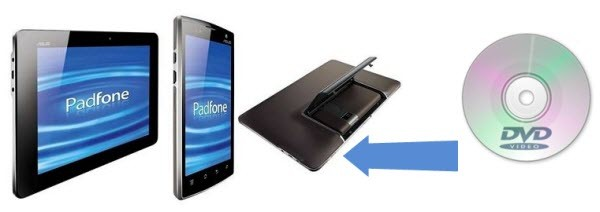 convert dvd to padfone