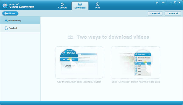 download videos in Windows 8