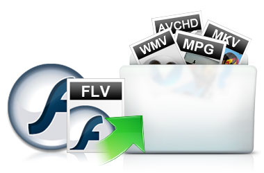 how to convert flv