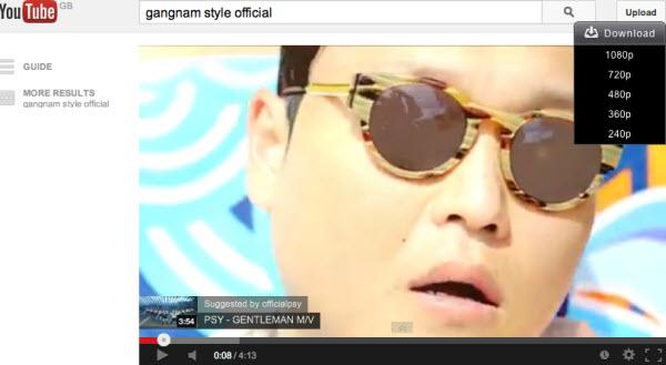download gangnam style