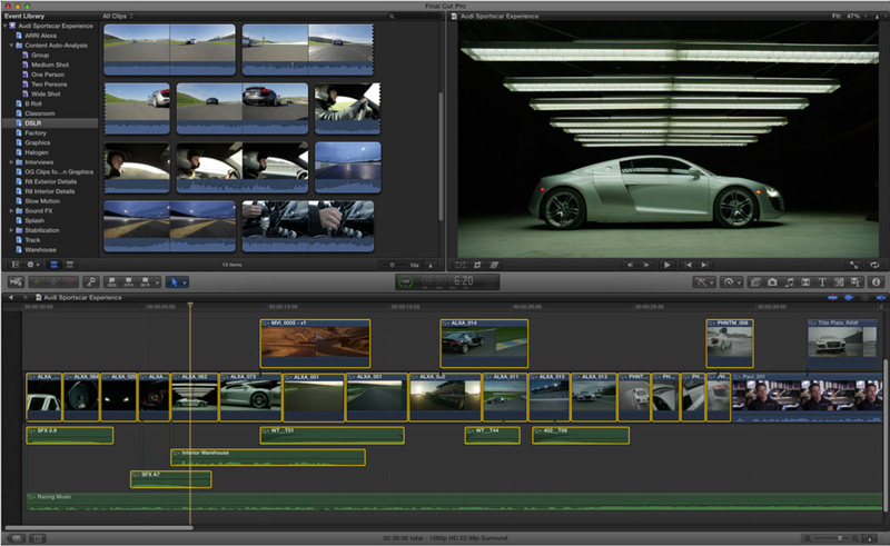 Final Cut Pro supported video format