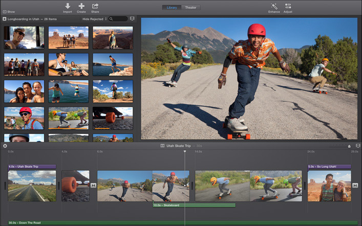 iMovie supported viddeo format