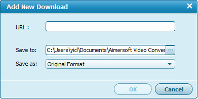 video converter add url