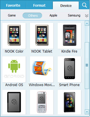 convert mp4 to android