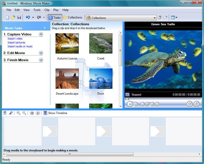 Windows Movie Maker supported viddeo format
