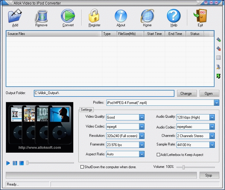 MP4 iPod Video Converter