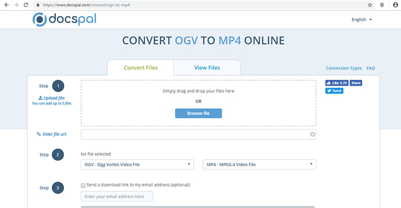 Convert OGV to MP4 Online