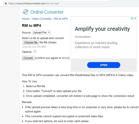 online mp4 to mov converter