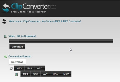 3 Facebook to MP3 Converter for Online Solution  - ClipConverter.cc