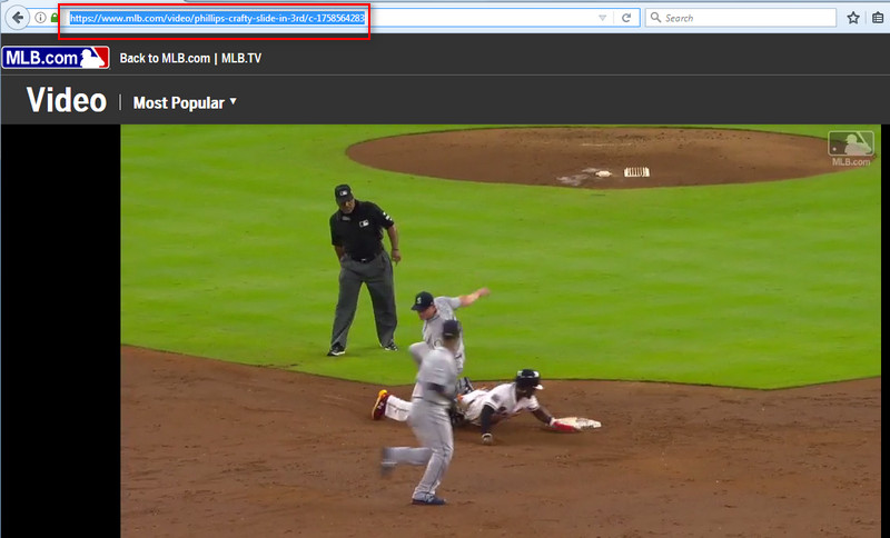 download mlb game video with URL