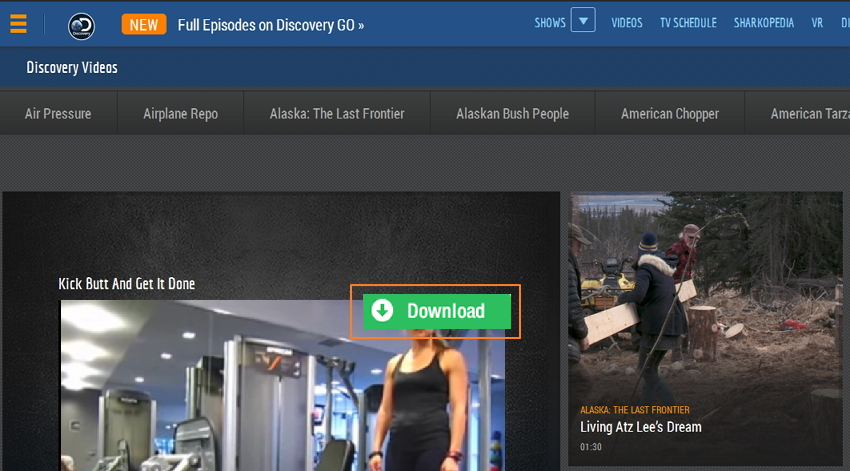 download discovery video
