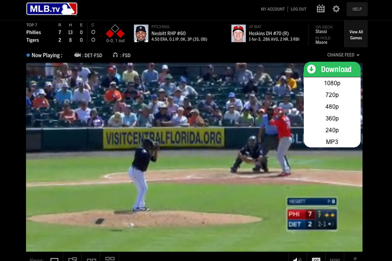 download MLB videos