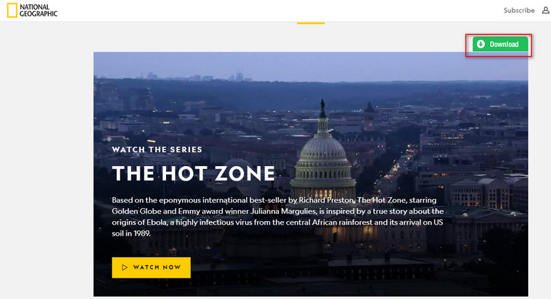 download videos from National Geographic