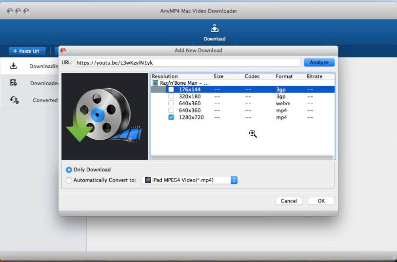 Top 4 Alternatives to RealDownloader for Mac - AnyMP4 Mac Video Downloader