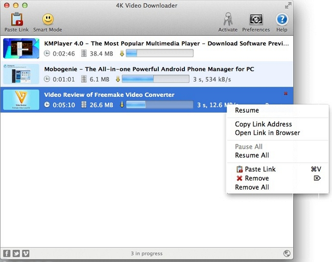 Top 4 Alternatives to RealDownloader for Mac - 4K Video Downloader