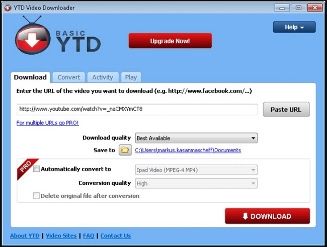 Top 4 Best Alternatives to RealDownloader for Windows  - YTD Video Downloader