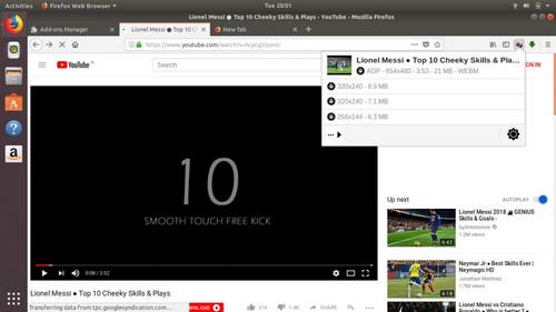 firefox video downloader - video download helper