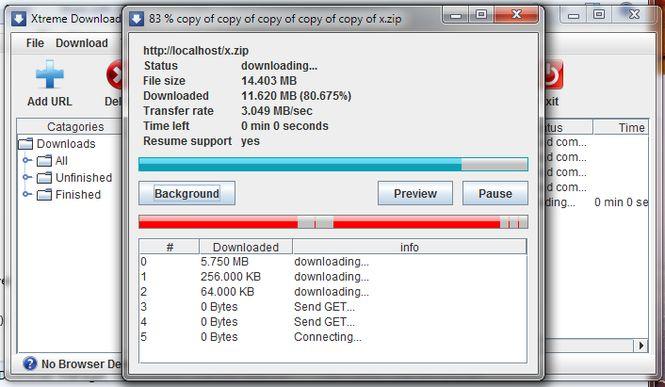 Orbit Downoader alternative-Xtreme Download Manager