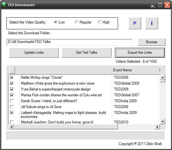 TED Downloader-Ted downloader software