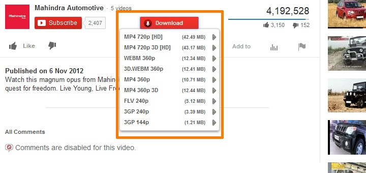 Best Firefox YouTube Downloaders