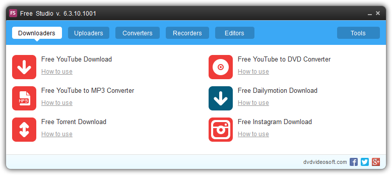 YouTube Downloader for Windows - Free Studio YouTube Downloader
