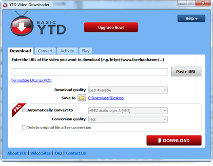 YouTube Downloader for Windows - YTD Video Downloader