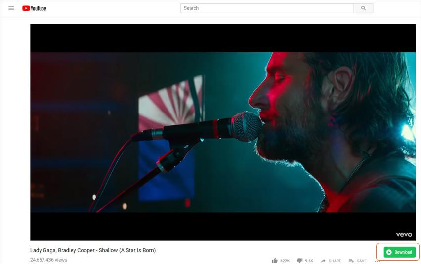 Best URL video downloader-download button