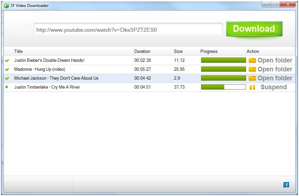 facebook video downloader - sf video downloader