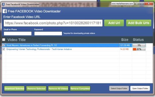 facebook video downloader - Free Facebook Video Downloader