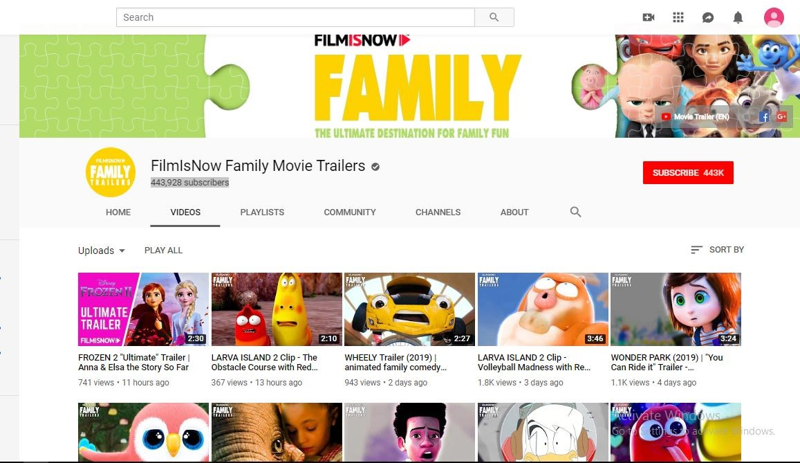 download movie trailers on youtube